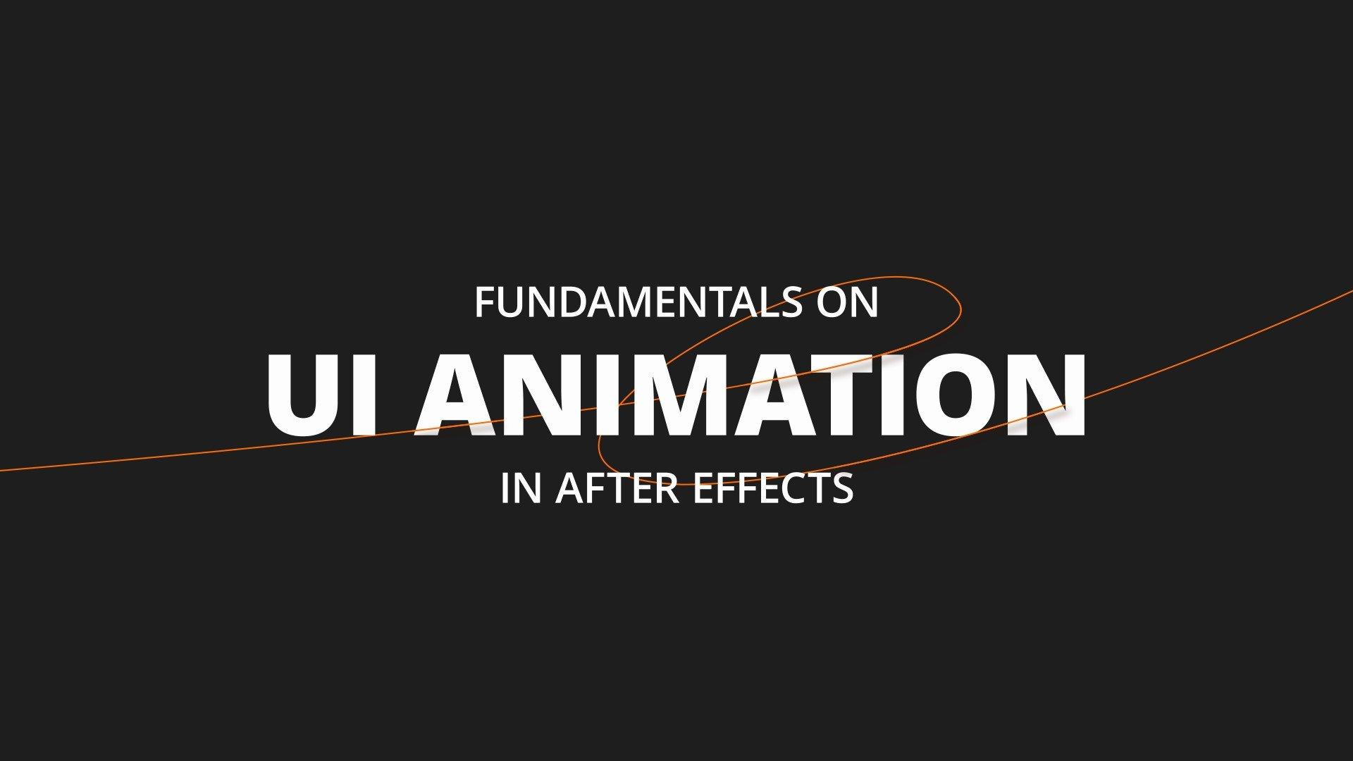 دوره آموزشی Ui Animation Fundamentals